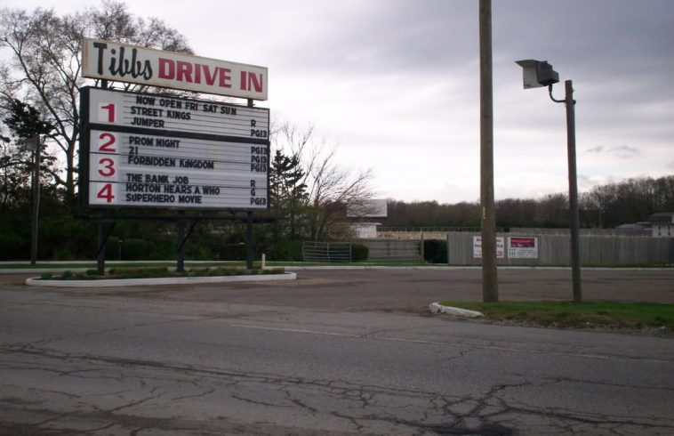 Drive In Theatre Indiana