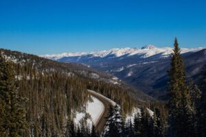 Route to rocky mountain national park