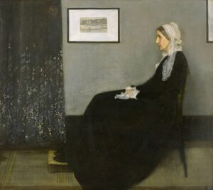 James McNeill Whistler - Arrangement in Grey and Black No. 1 (Whistler's Mother)