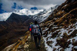 weekend trekking trip