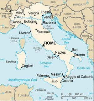 facts about italy