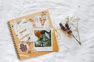 mini scrapbook under awesome DIY birthday gifts