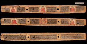 Buddhist_Pancaraksa_manuscript