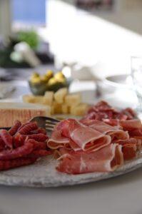 Italian wedding food