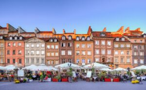 Warsaw, one of the cheapest places to live in Europe