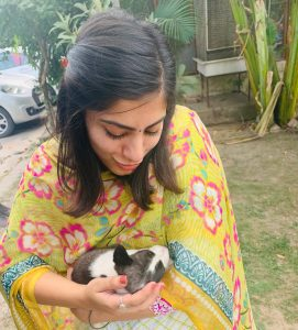 taking care of mental health and animals