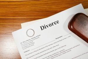 divorce papers