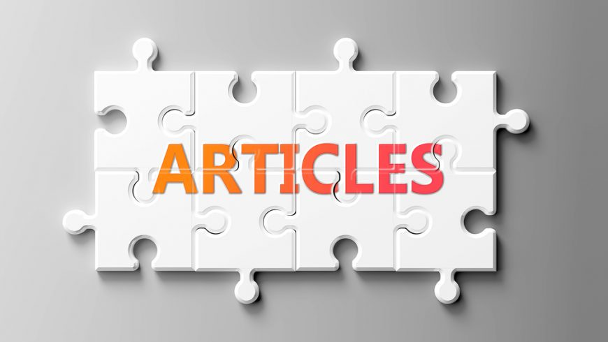 Submit your article!