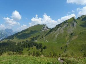 Hiking mountain tops