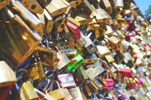 Love lock a Japanese tradition