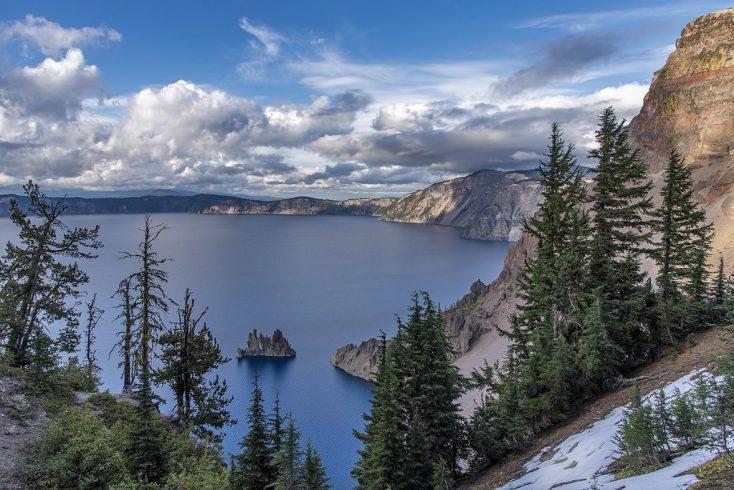 Crater Lake National Park Phantom Ship Island