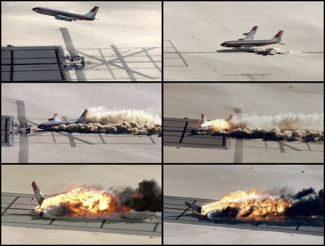 types of air plane crash