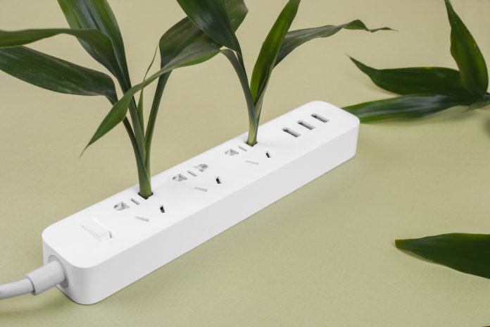 Smart power strip with green energy